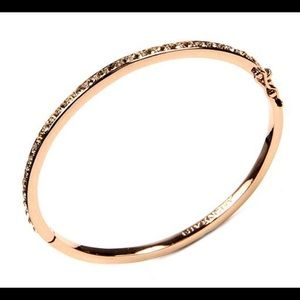 Jewelry - 🌸 Givenchy Rose Gold Crystal Bangle🌸